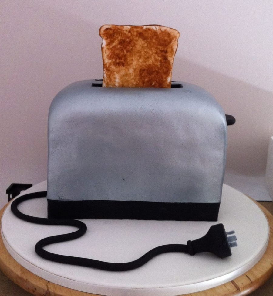 Toaster For A Kitchen Tea Party on Cake Central