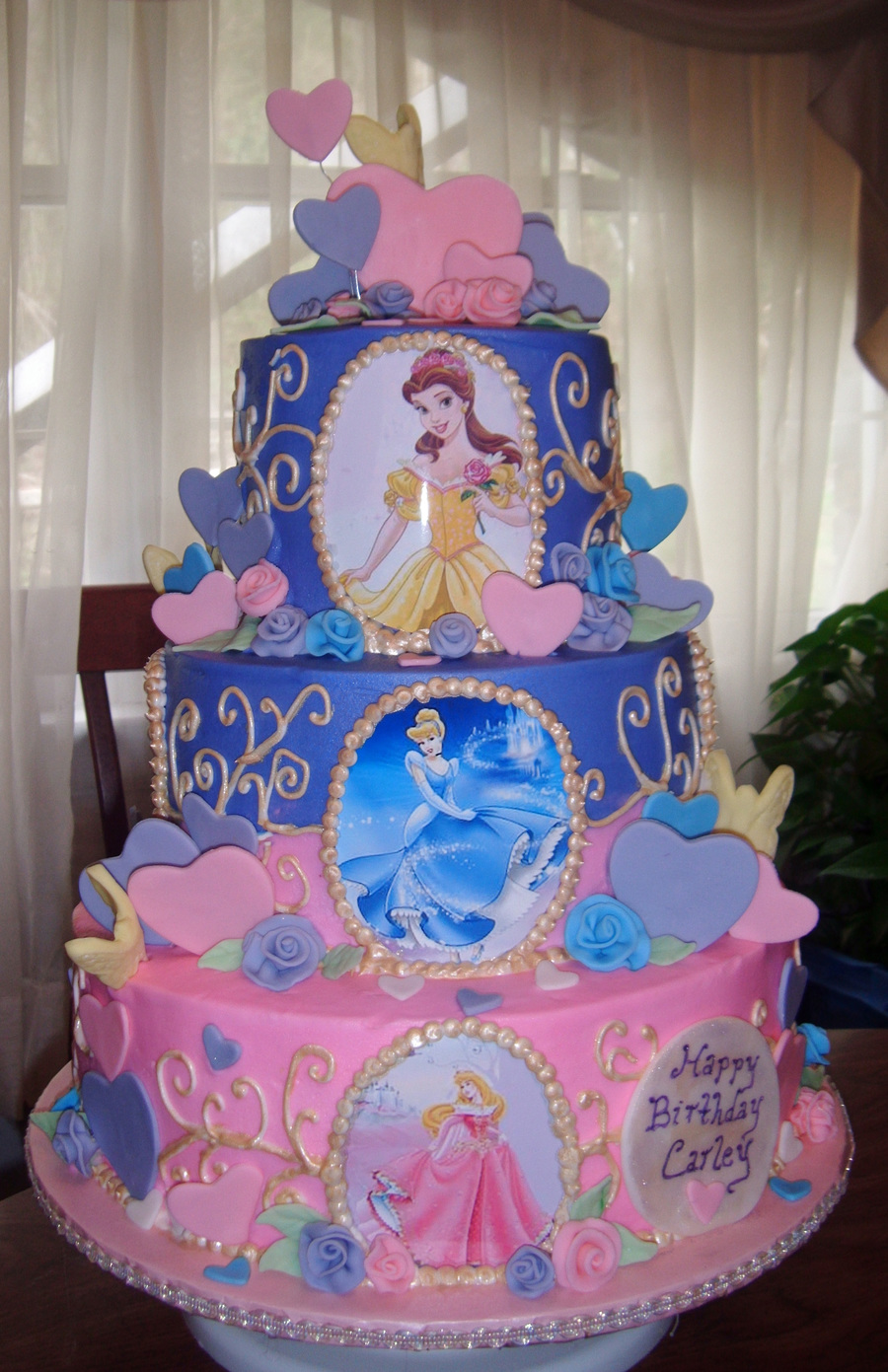 Disney Princesses Cake on Cake Central