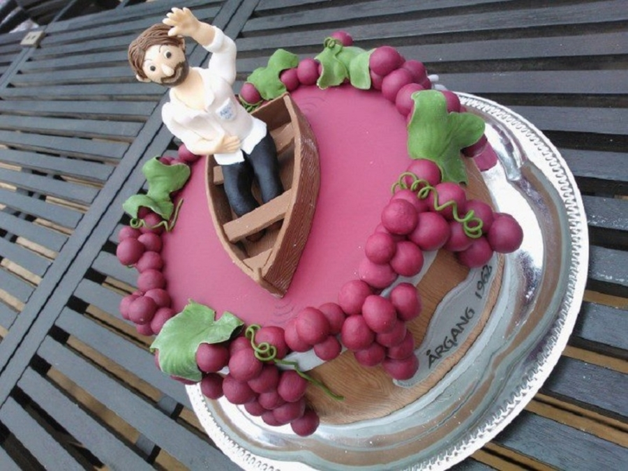 Wine Lover  on Cake Central