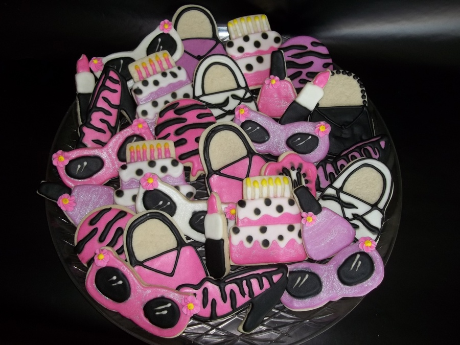 Girly Cookies on Cake Central