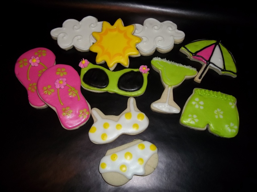Summer Fun Cookies on Cake Central
