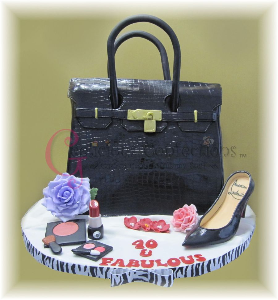 Hermes Purse on Cake Central