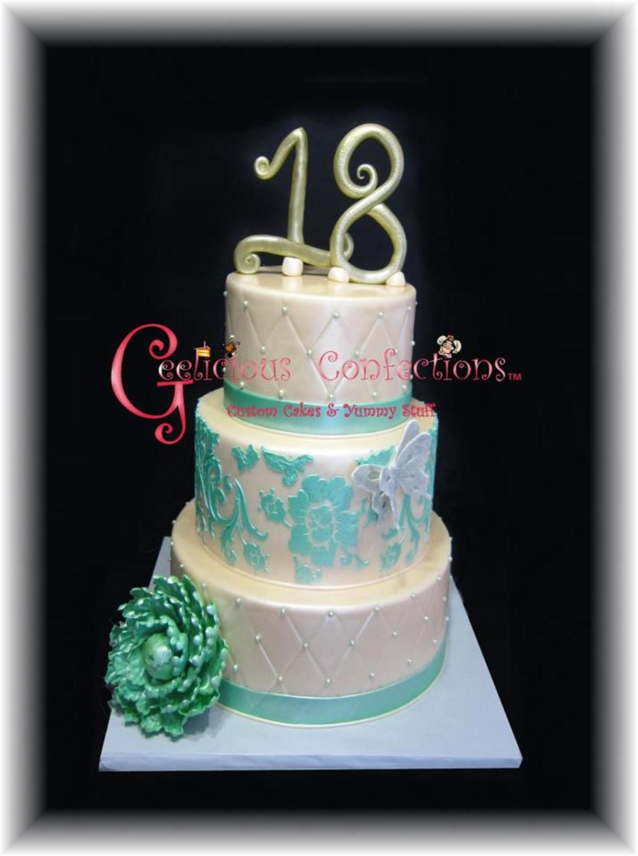 Sweet 18Th Birthday on Cake Central