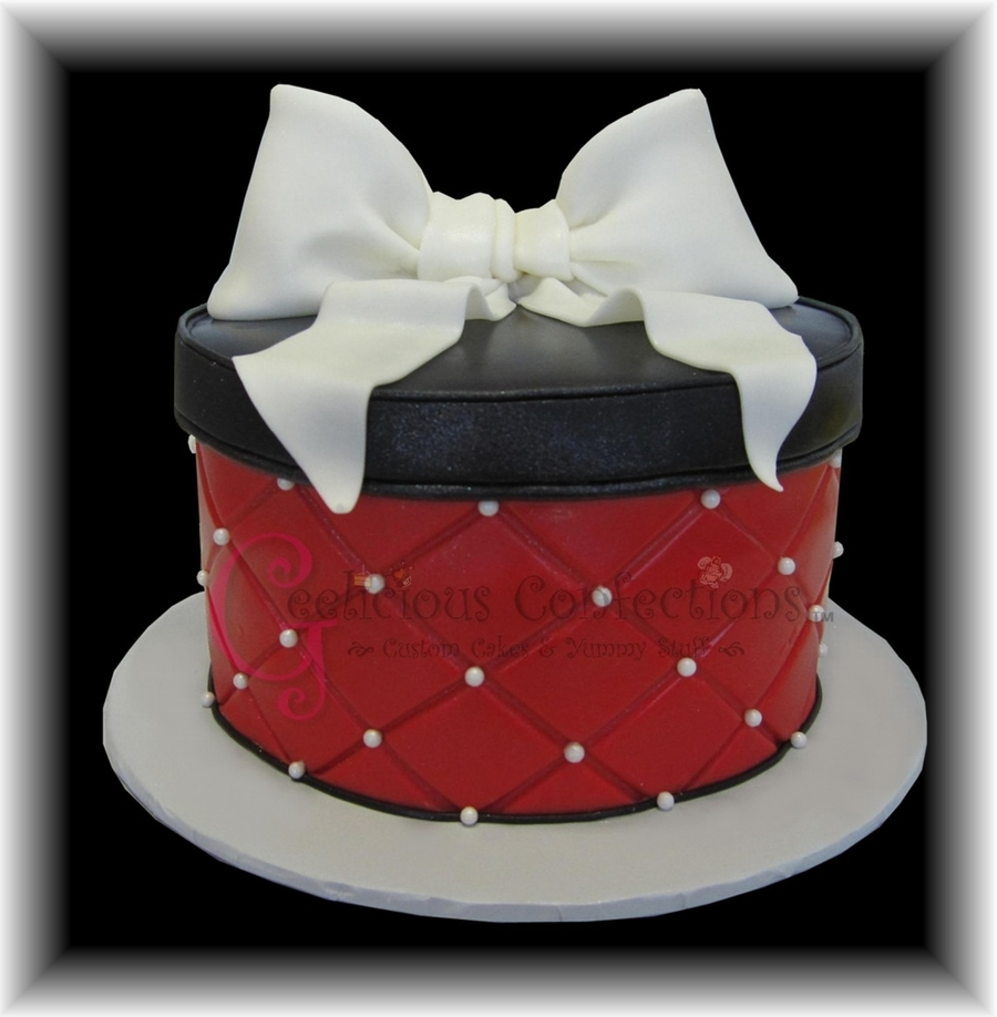 Hat Box on Cake Central