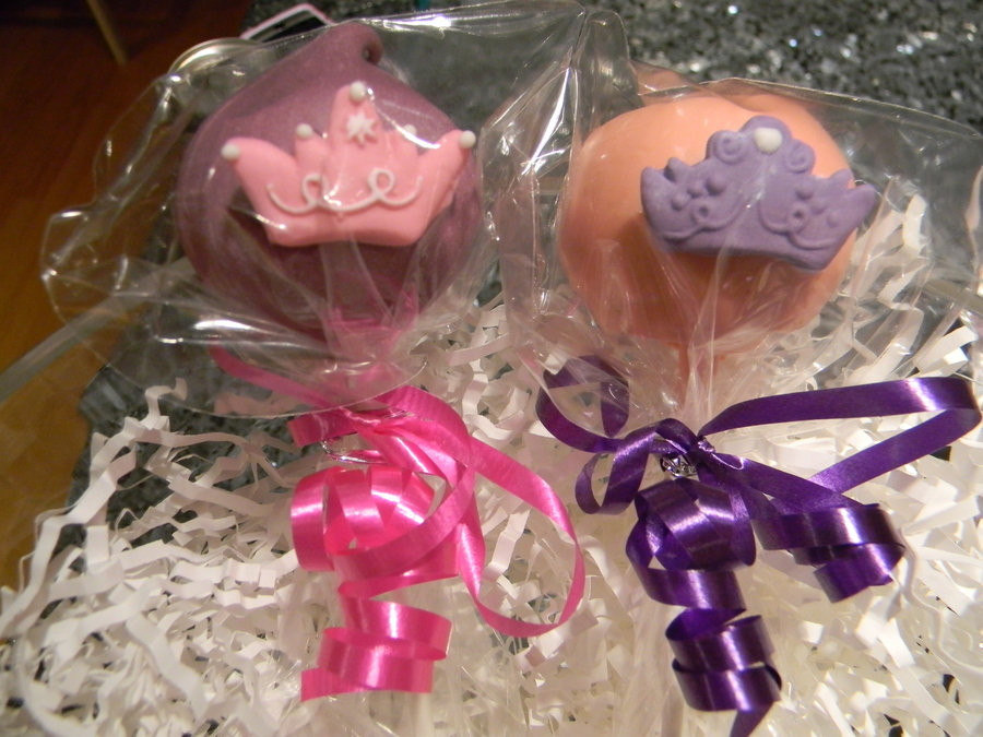 Princess Cake Pops on Cake Central