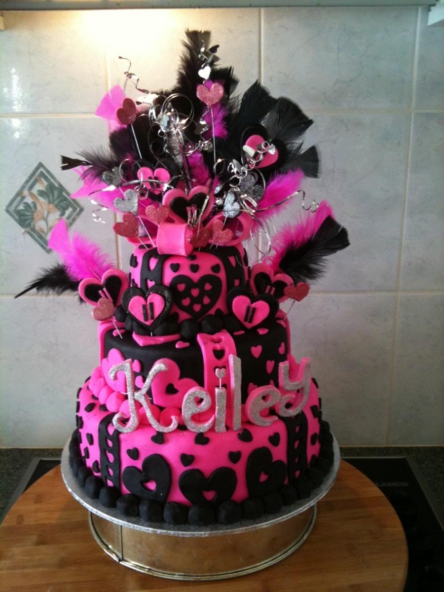 Keileys 11th Birthday Cake Cakecentral