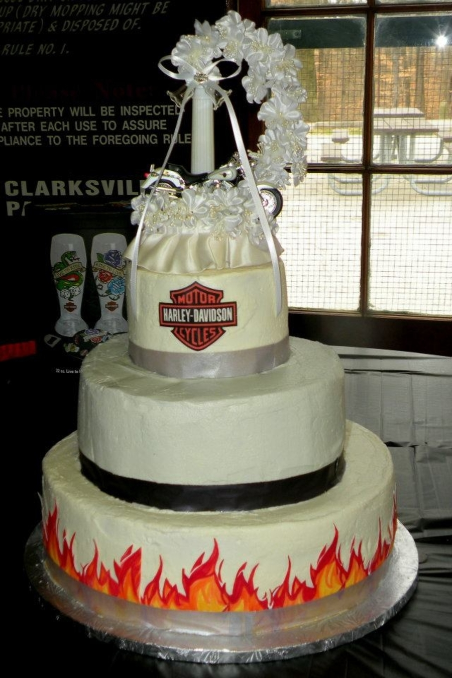Harley Davidson Wedding Cake On Central