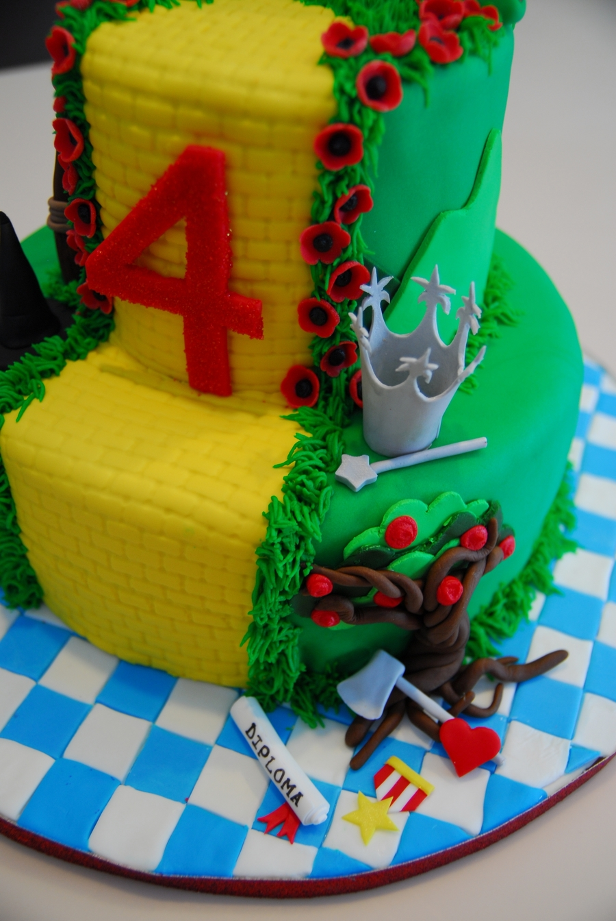 Wizard Of Oz Cake Cakecentral Com