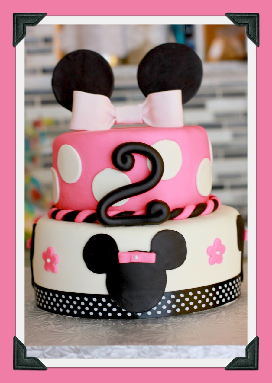 Minnie Mouse Cake 86 Chocolate 75 on Cake Central