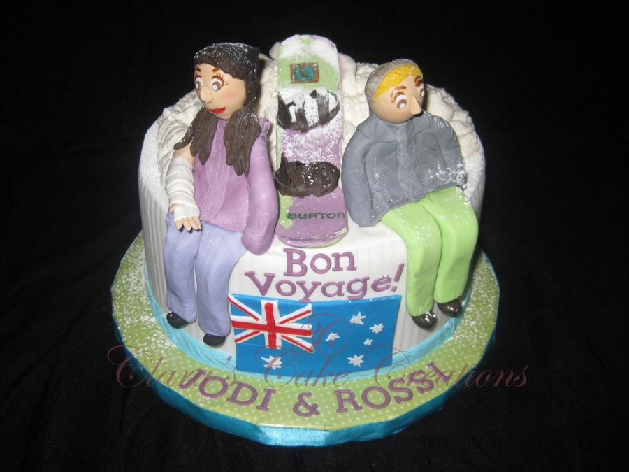 Bon Voyage Jodi And Rossi! on Cake Central
