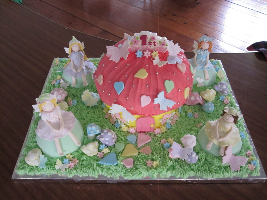 First Birthday Fairy Cake on Cake Central