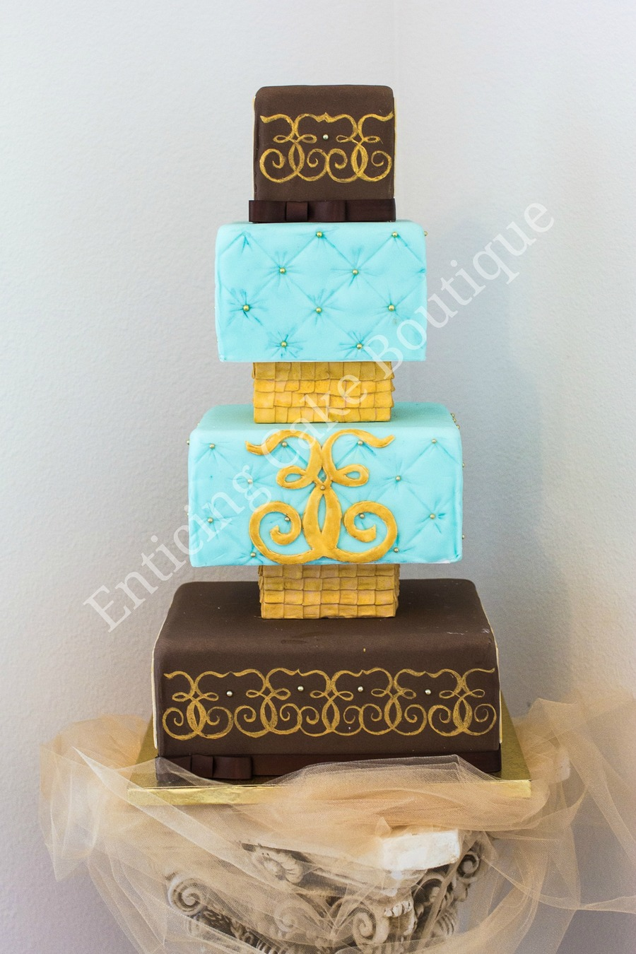 Square Quilted Cake