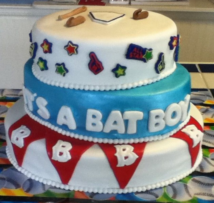 It's A Bat Boy! on Cake Central