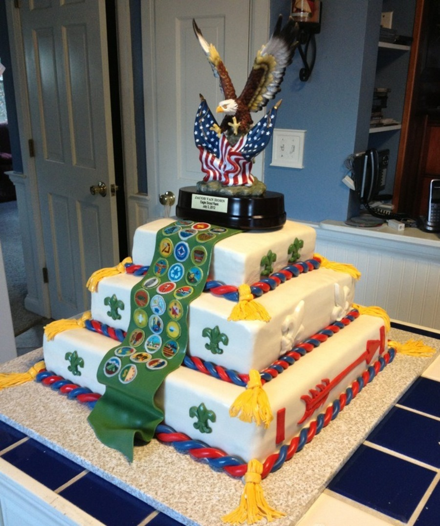 Eagle Scout  on Cake Central