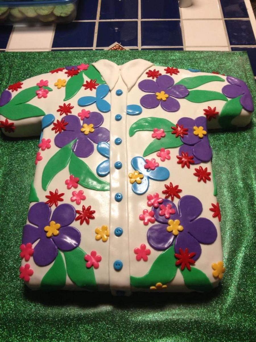 Hawaiian Shirt on Cake Central