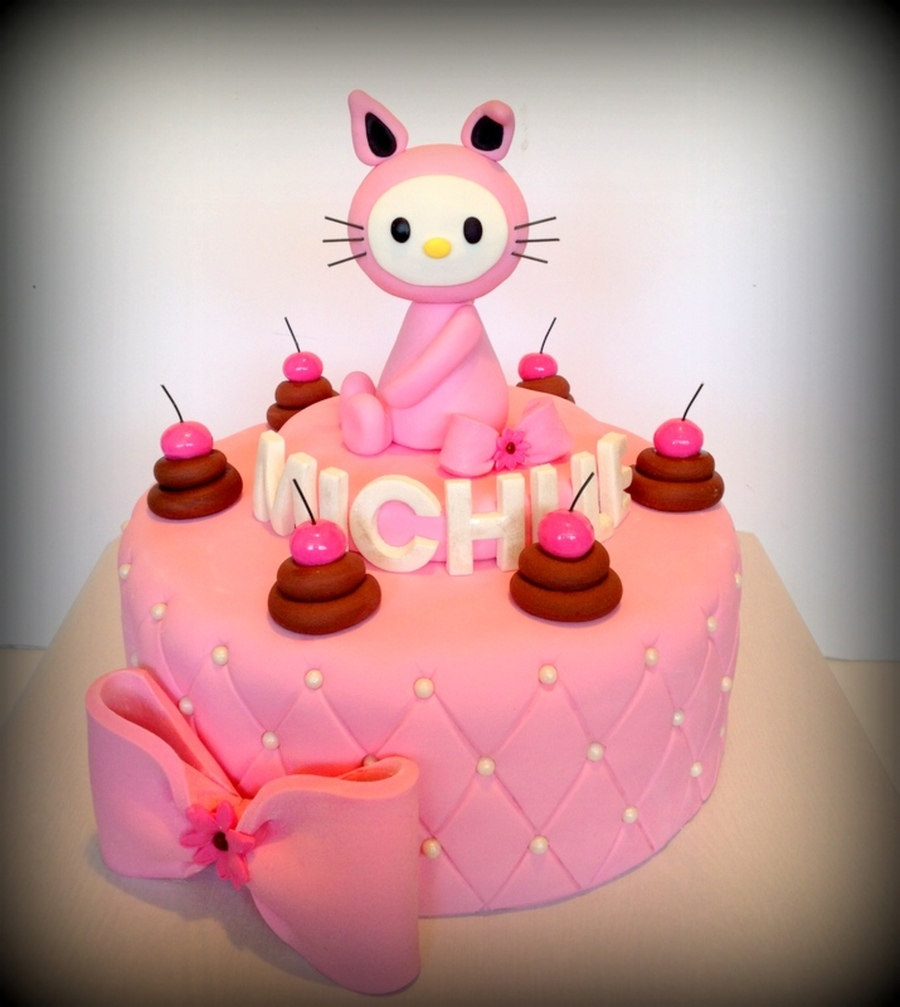 Hello Kitty By Riky's Cakes on Cake Central