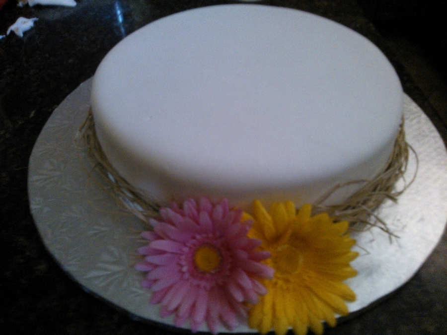 "Wedding Cake 12"" Round on Cake Central"