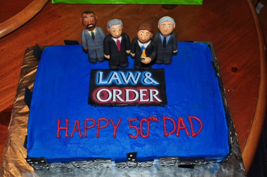 Law And Order Cakecentral