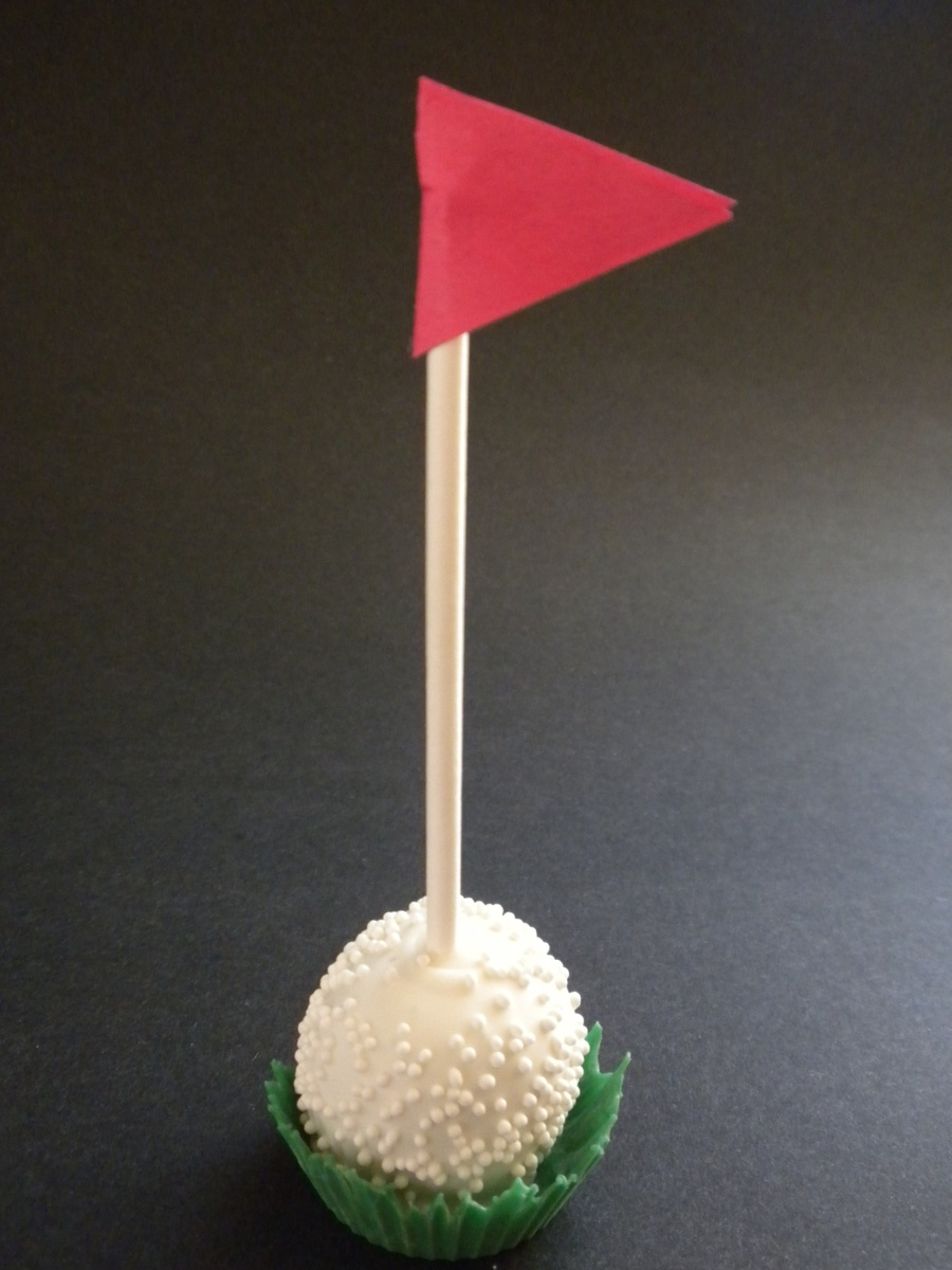 Golf Ball Cake Pops Recipe