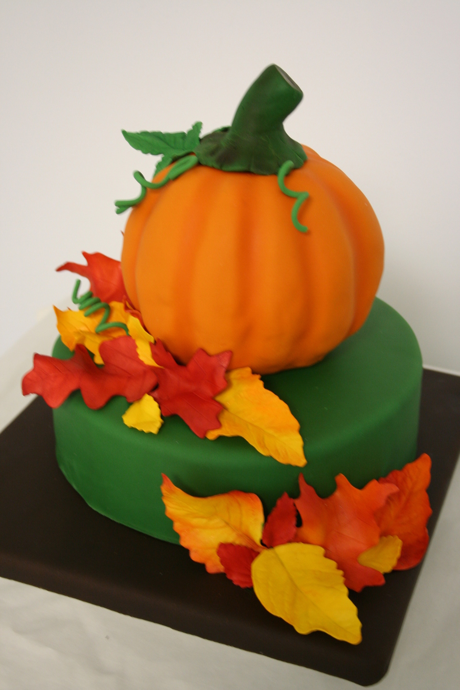 Thanksgiving Pumpkin on Cake Central