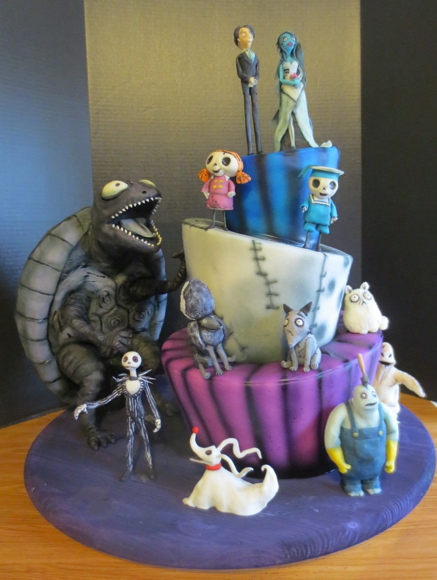 Tim Burton Cake Ideas