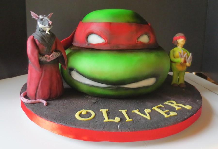Teenage Mutant Ninja Turtles Cake Cakecentral Com