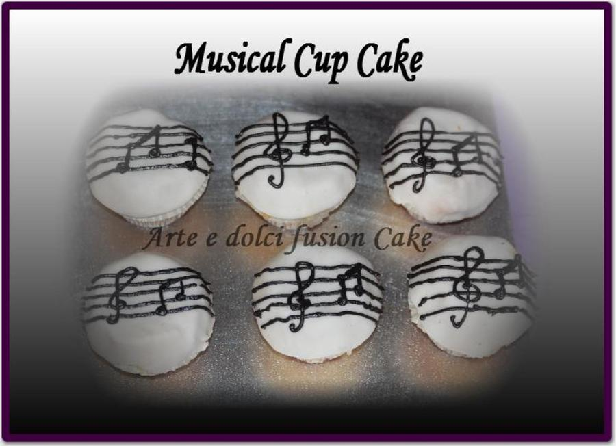 Musical Cup Cake  on Cake Central