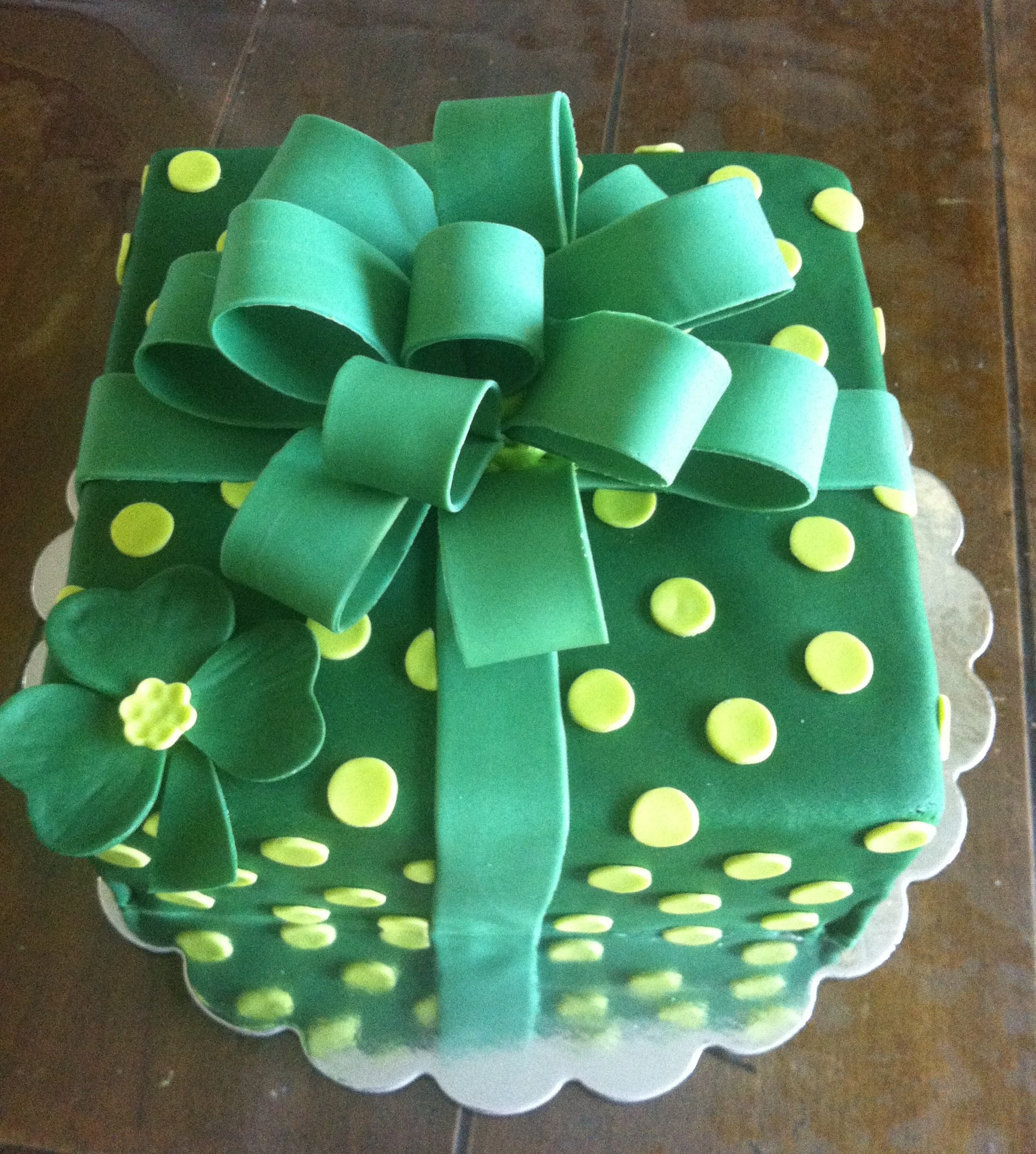 Irish Birthday Cake For St Pattys Day CakeCentralcom