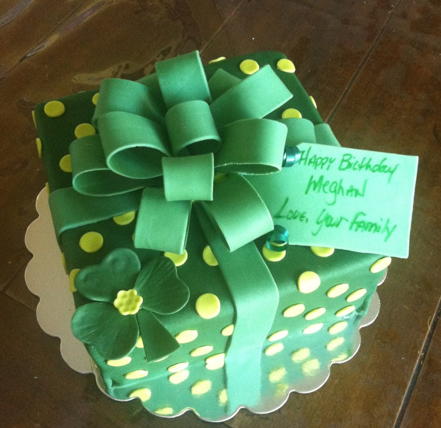 Irish Birthday Cake For St Patty S Day Cakecentral Com