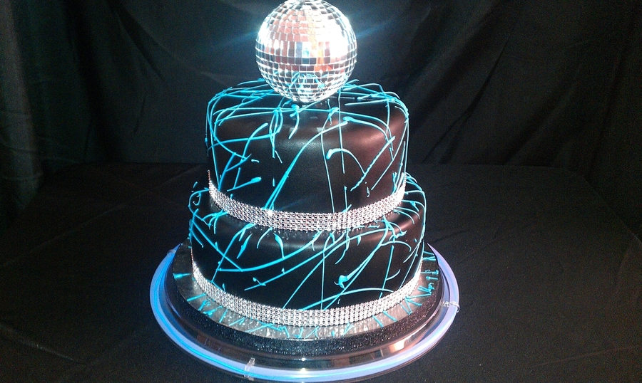 Disco Glow on Cake Central