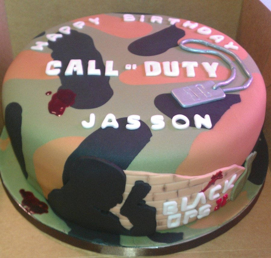 Call Of Duty Black Ops Cakecentral