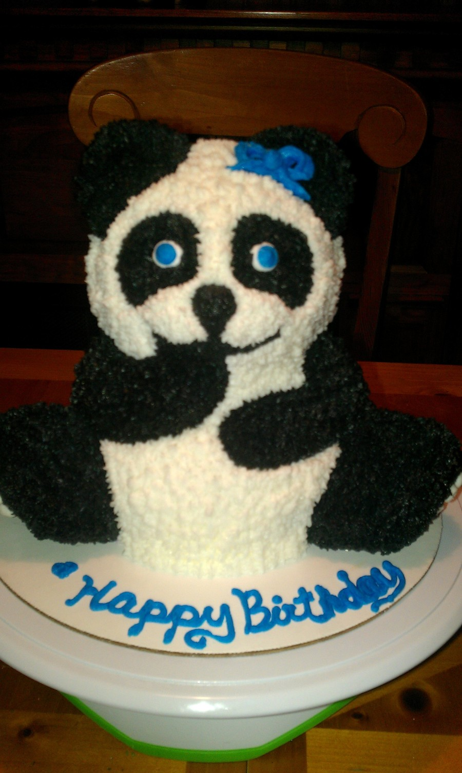 Panda on Cake Central