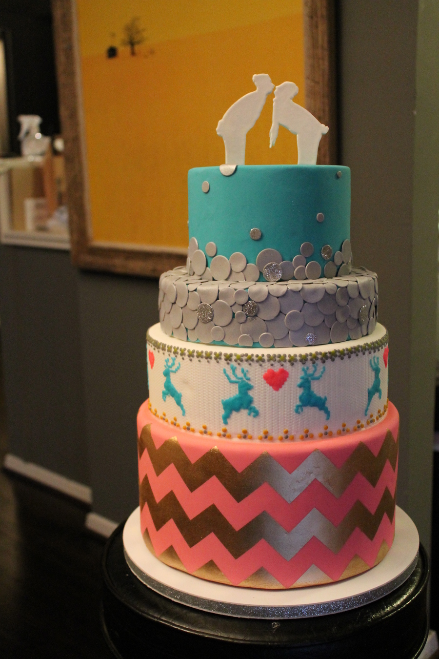 Ski Resort Wedding  on Cake Central