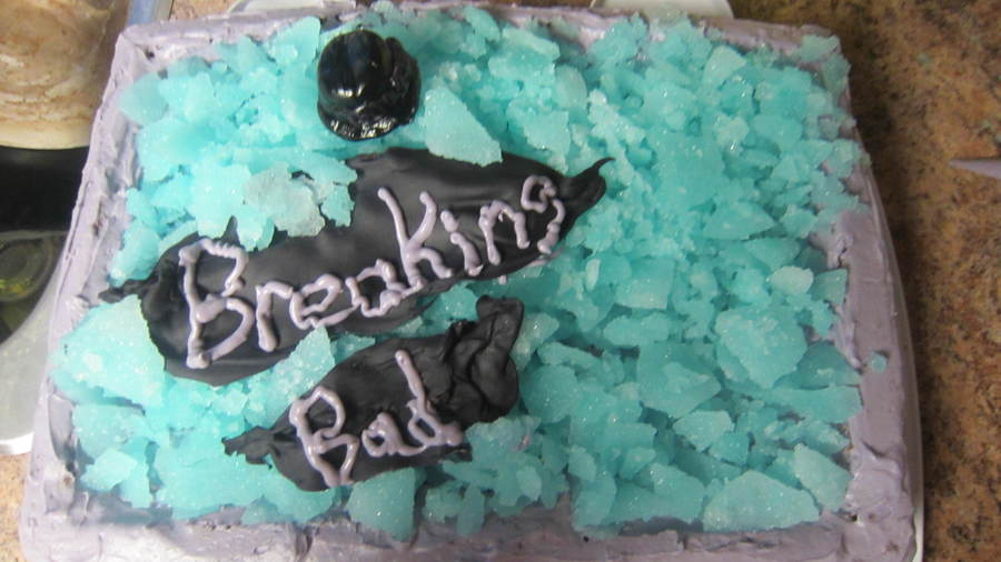 Pleasant Breaking Bad Birthday Cake Cakecentral Com Funny Birthday Cards Online Overcheapnameinfo