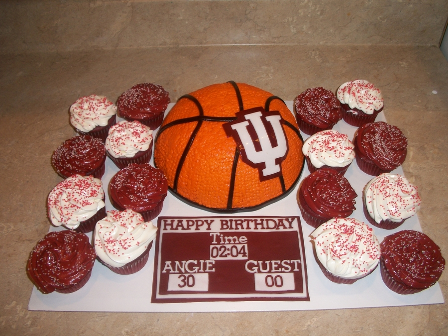 Iu Basketball Cake on Cake Central