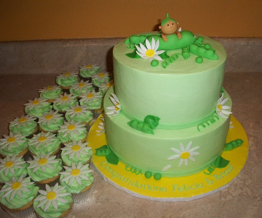 Pea In Pod Cakejpg on Cake Central