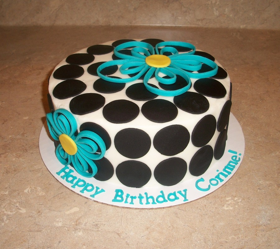 Quilled Flower Cake on Cake Central