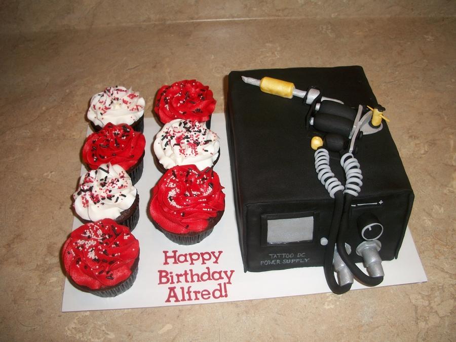 Birthday Cake Tattoo Gun