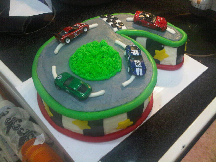 Images Of Race Car Cakes