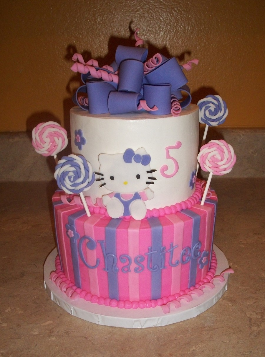 Hello Kitty Lollipop Cakejpg on Cake Central