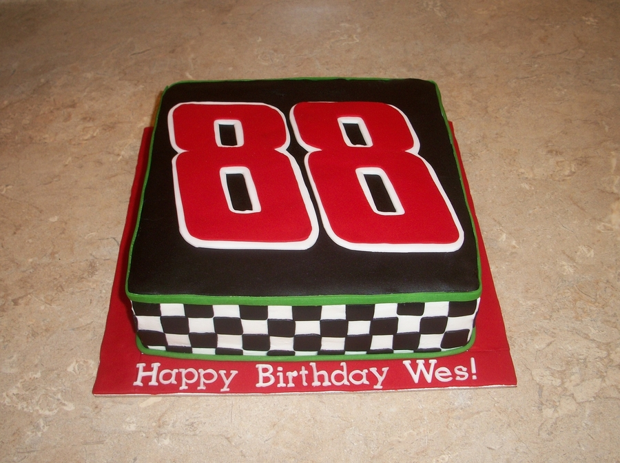 Dale Earnhardt Jr. Cake on Cake Central