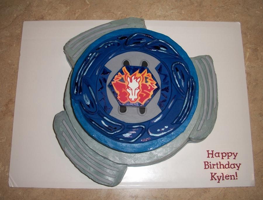 Pegasus Beyblade Cake Cakecentral Com