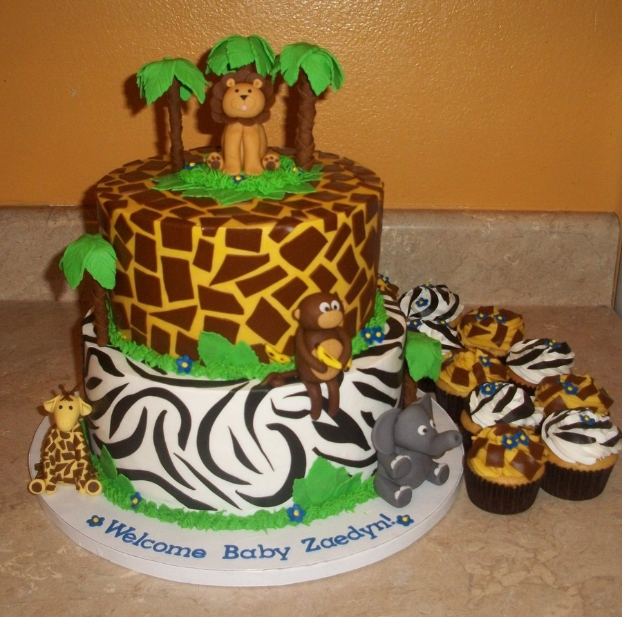 Jungle Cake Biggerjpg on Cake Central