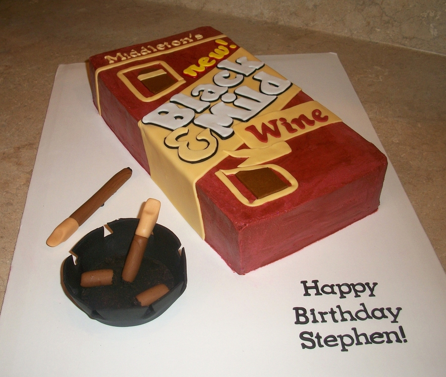 Black & Mild Cigars Cake on Cake Central