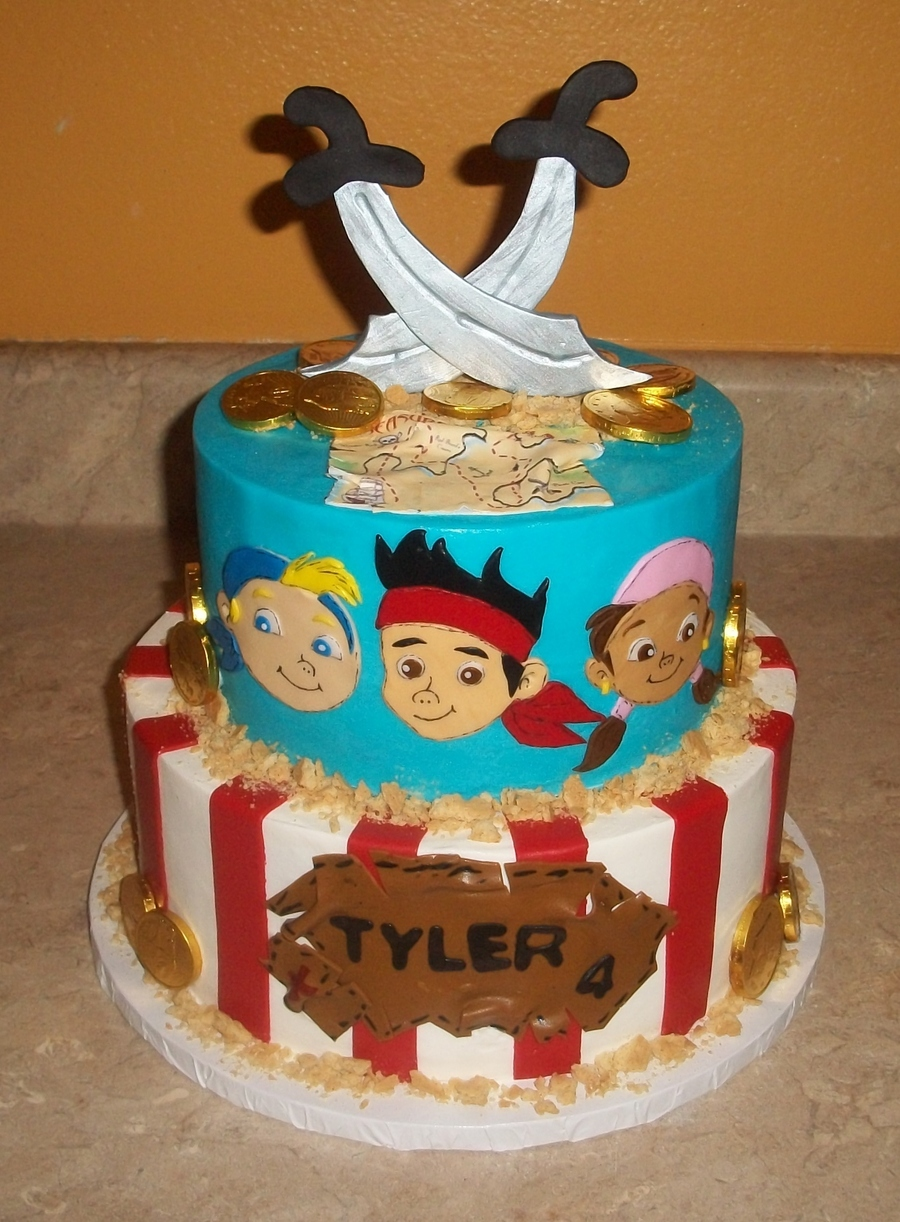 Neverland Pirates on Cake Central