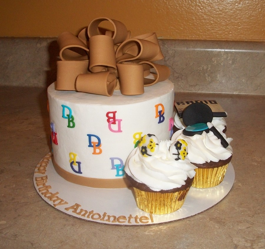 Douney And Bourke Cake With Cupcakes With Birthday Girls Favorite Things on Cake Central