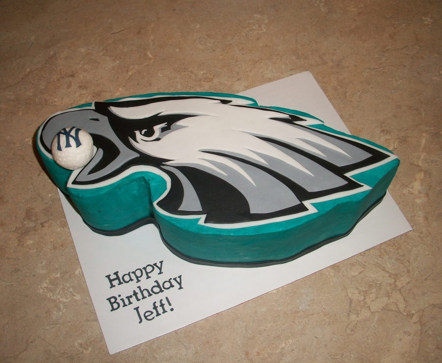 Philadephia Eagles Cake on Cake Central