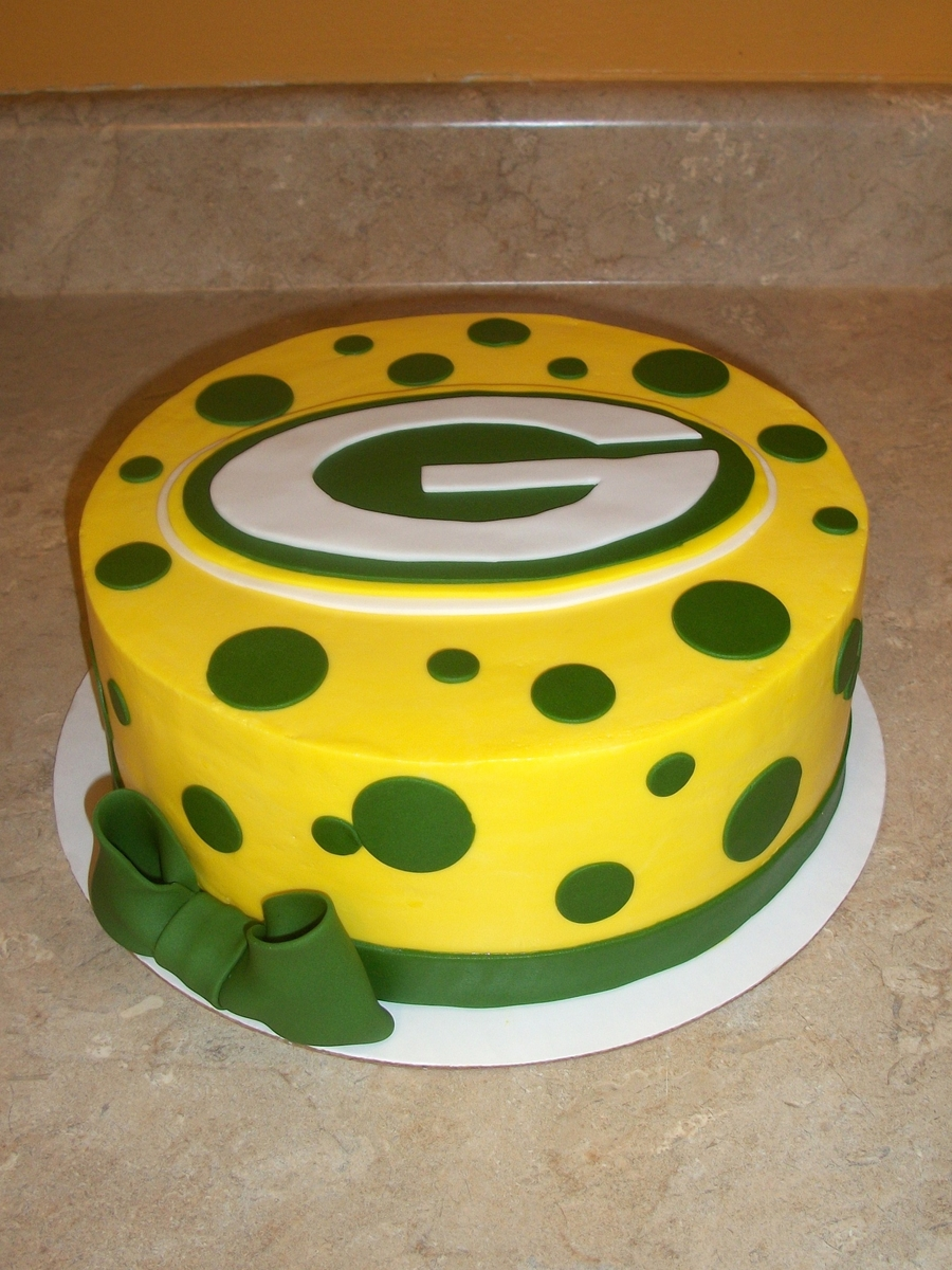 Greenbay Packers Cake on Cake Central