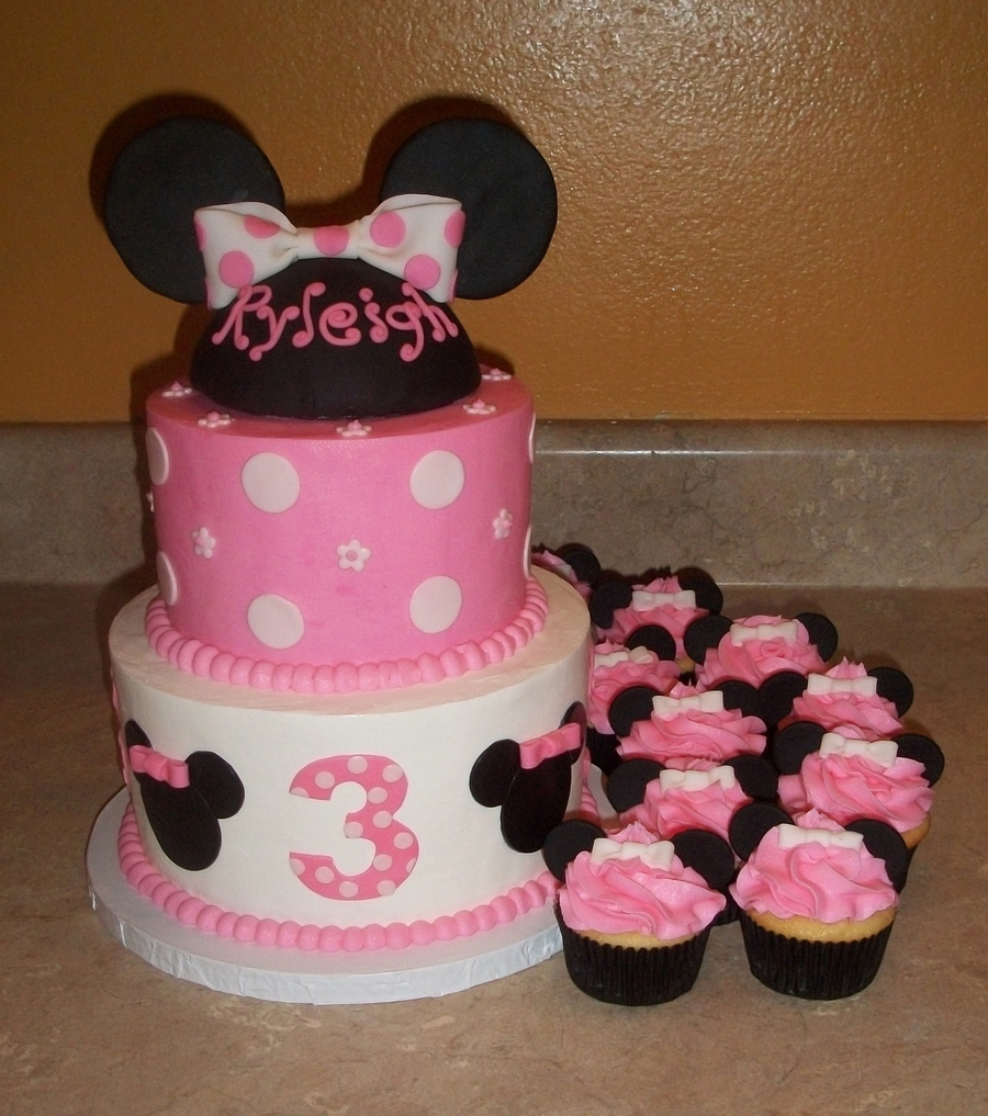 Minnie Mouse Cake Smalljpg on Cake Central