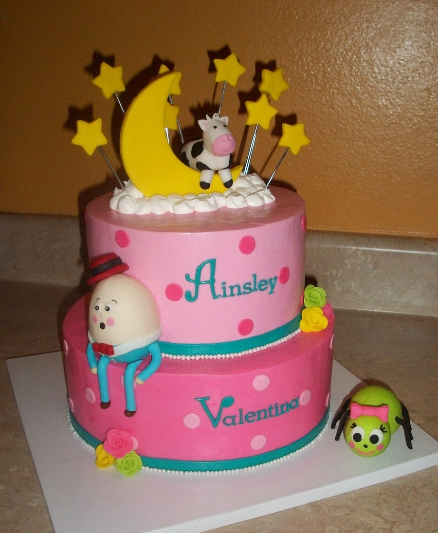 Nursery Rhyme Cakejpg  on Cake Central